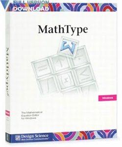 MathType v7.4.1