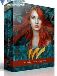 Moody Photoshop Panel v1.1.2