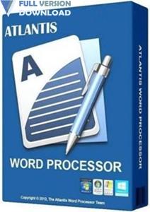 Atlantis Word Processor v3.2.12.1