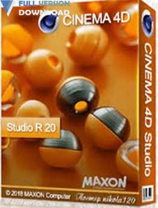 Maxon CINEMA 4D Studio R20.055
