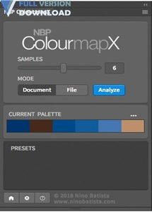 NBP ColourmapX Plug-in for Photoshop v1.0.3