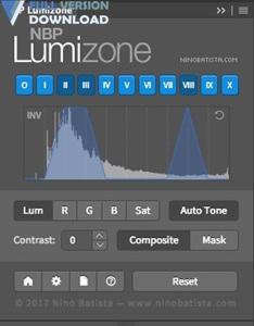 NBP Lumizone Plug-in for Photoshop v1.0.002