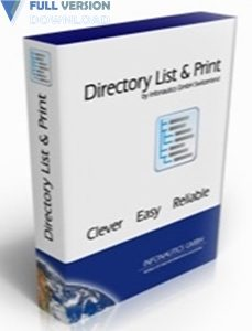 Directory List and Print Pro v3.62