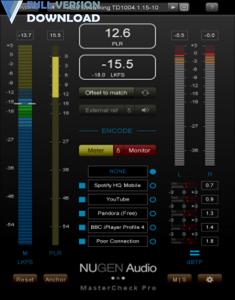 NUGEN Audio MasterCheck Pro v1.6.0.2