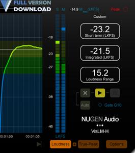 NUGEN Audio VisLM v2.8.1.1