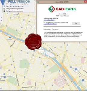 Arqcom CAD-Earth v4.1.9