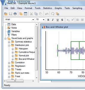 MedCalc v19.0.2