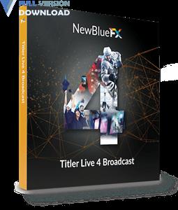 NewBlueFX Titler Live 4 Broadcast v4.0.190221