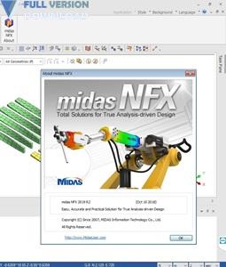 midas NFX 2019 R2 Build 20190222