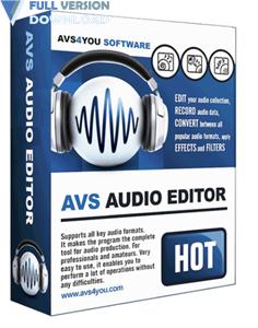 AVS Audio Editor v9.0.1.530