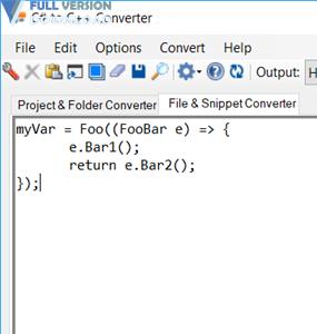 C# to C++ Converter Premium v18.6.2