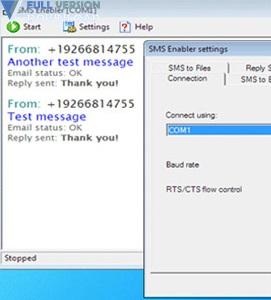 SMS Enabler v2.7.2