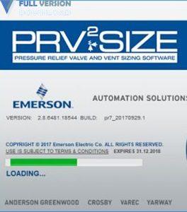 Emerson PRV2SIZE v2.8.6481