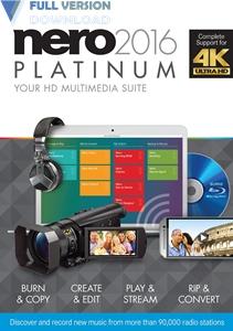 Nero 2016 Platinum v17.0.04000 + Content Pack