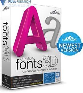 Summitsoft Creative Fonts 3D v10.5