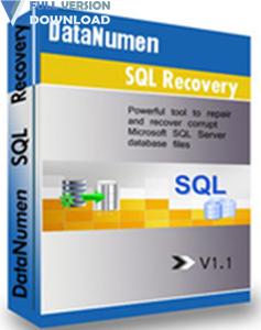 DataNumen SQL Recovery v4.4.0.0