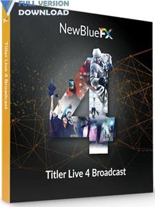 NewBlueFX Titler Pro v7.0
