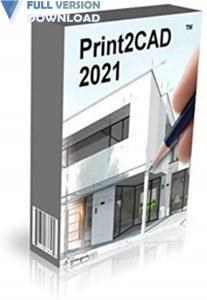 BackToCAD Print2CAD 2022 v22.21f