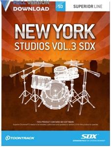 Toontrack New York Studios V.3