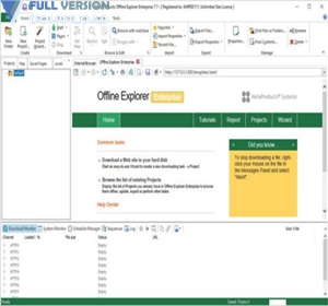 MetaProducts Offline Explorer Enterprise v8.1.4892