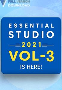 Syncfusion Essential Studio 2021 Volume 3